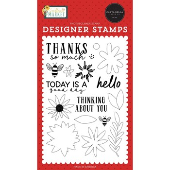 Carta Bella TODAY IS A GOOD DAY Clear Stamps cbsun144040