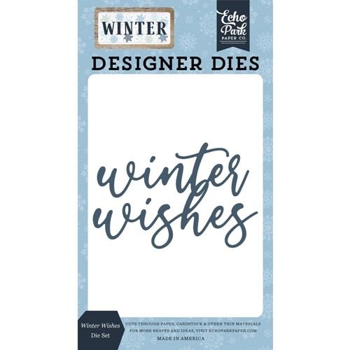 Echo Park WINTER WISHES Die Set wtr257041 Preview Image