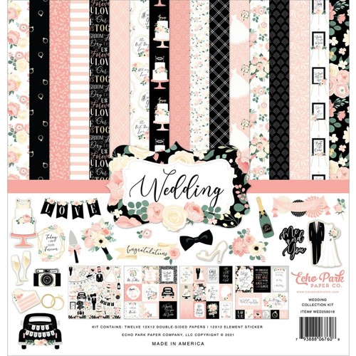 Echo Park WEDDING 12 x 12 Collection Kit wed258016 Preview Image