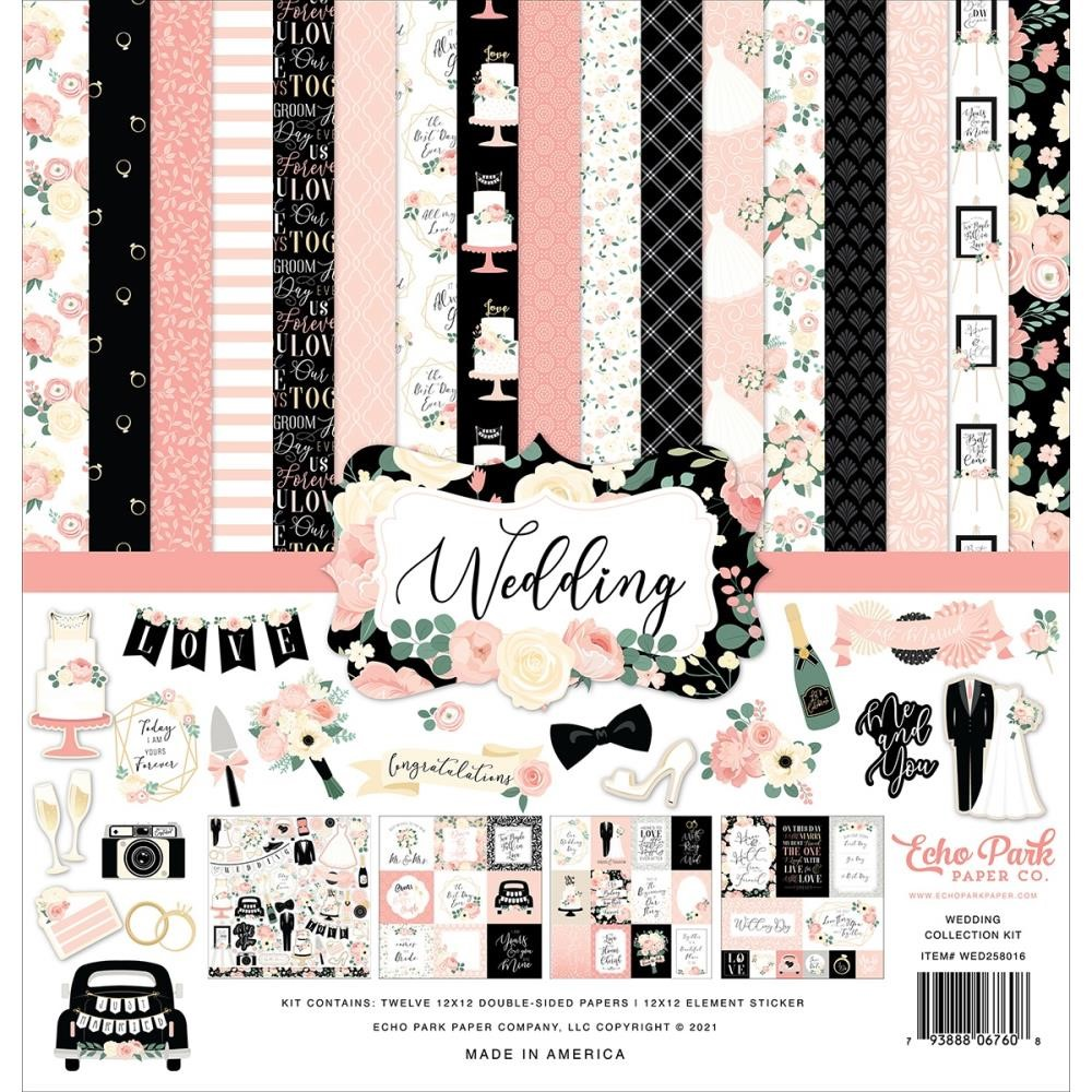Echo Park WEDDING 12 x 12 Collection Kit wed258016 zoom image