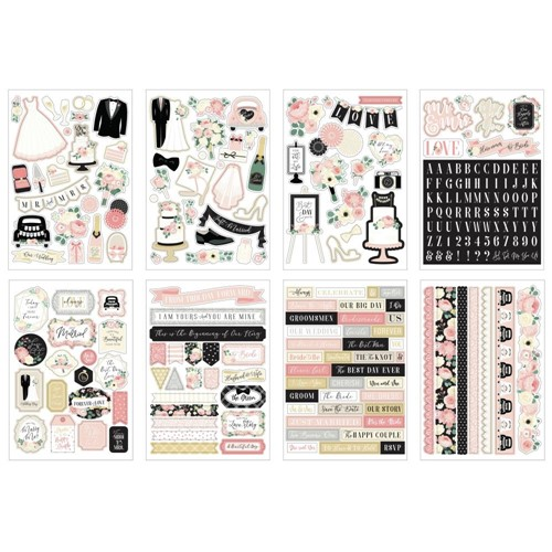 Echo Park WEDDING Sticker Book wed258029 Preview Image