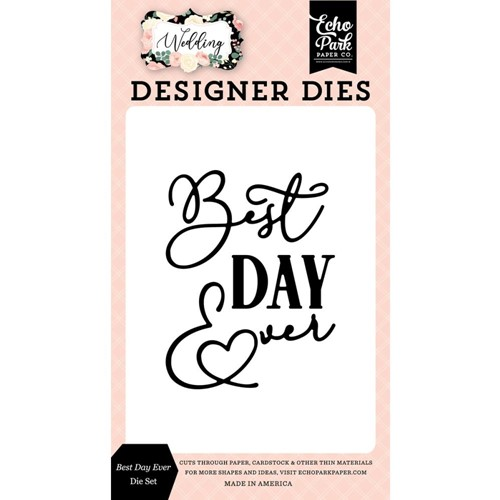 Echo Park BEST DAY EVER Die Set wed258042 Preview Image