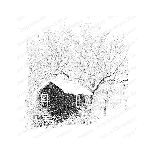 Impression Obsession Cling Stamp SNOWY STUDIO H22032 Preview Image