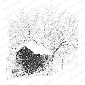 Impression Obsession Cling Stamp SNOWY STUDIO H22032