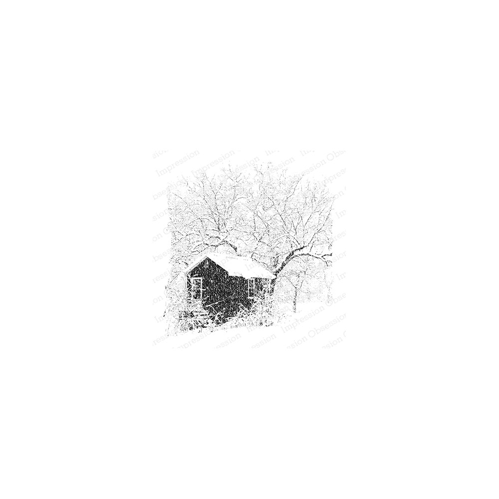 Impression Obsession Cling Stamp SNOWY STUDIO H22032 zoom image