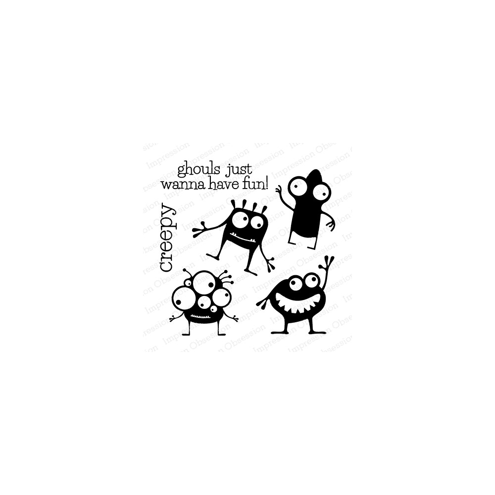 Impression Obsession Clear Stamp MONSTER CS1087 zoom image