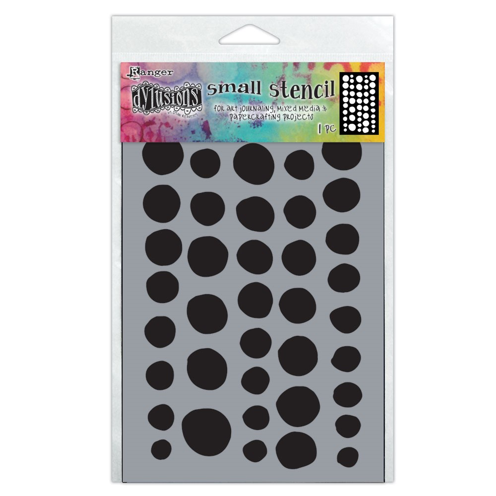 Dyan Reaveley Stencil 5 x 8 COINS Dylusions Ranger dys78081 zoom image