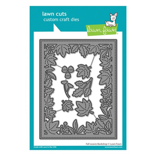 Lawn Fawn FALL LEAVES BACKDROP Die Cuts lf2703 Preview Image
