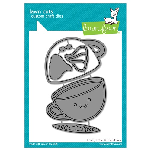 Lawn Fawn LOVELY LATTE Die Cuts lf2698 Preview Image