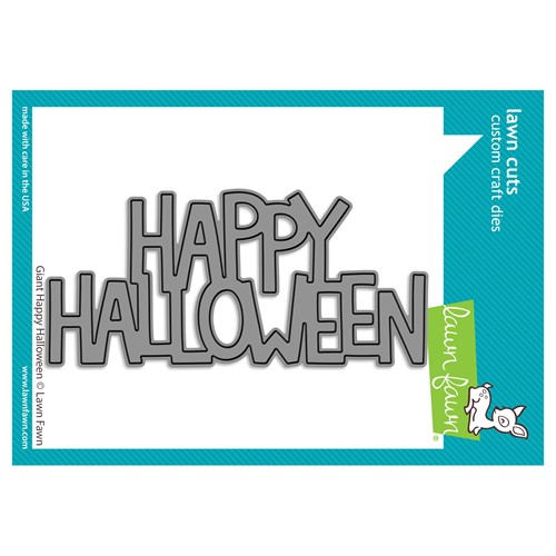 Lawn Fawn GIANT HAPPY HALLOWEEN Die Cut lf2691 Preview Image