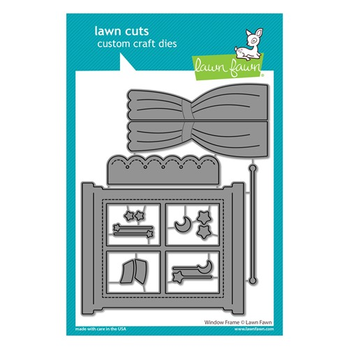 Lawn Fawn WINDOW FRAME Die Cuts lf2687 Preview Image