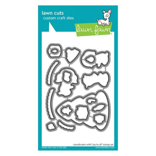 Lawn Fawn JOY TO ALL Die Cuts lf2669 Preview Image