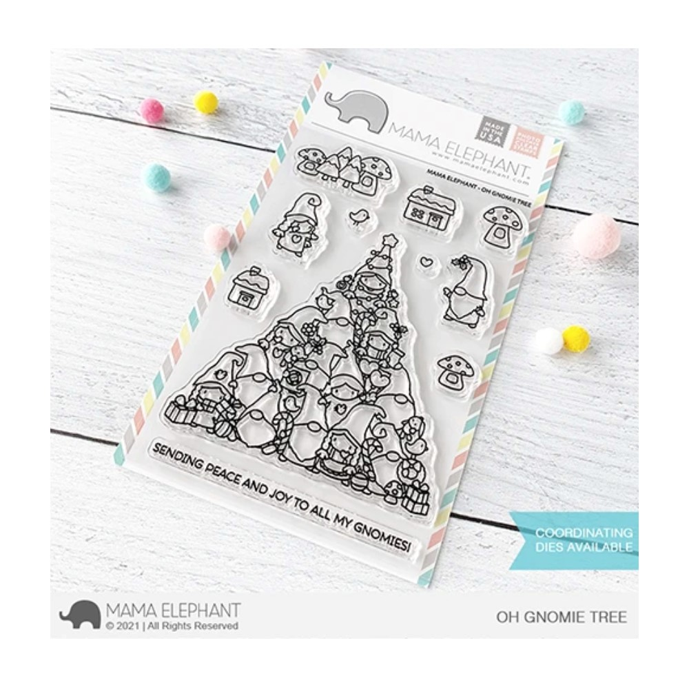 Mama Elephant Clear Stamps OH GNOMIE TREE zoom image