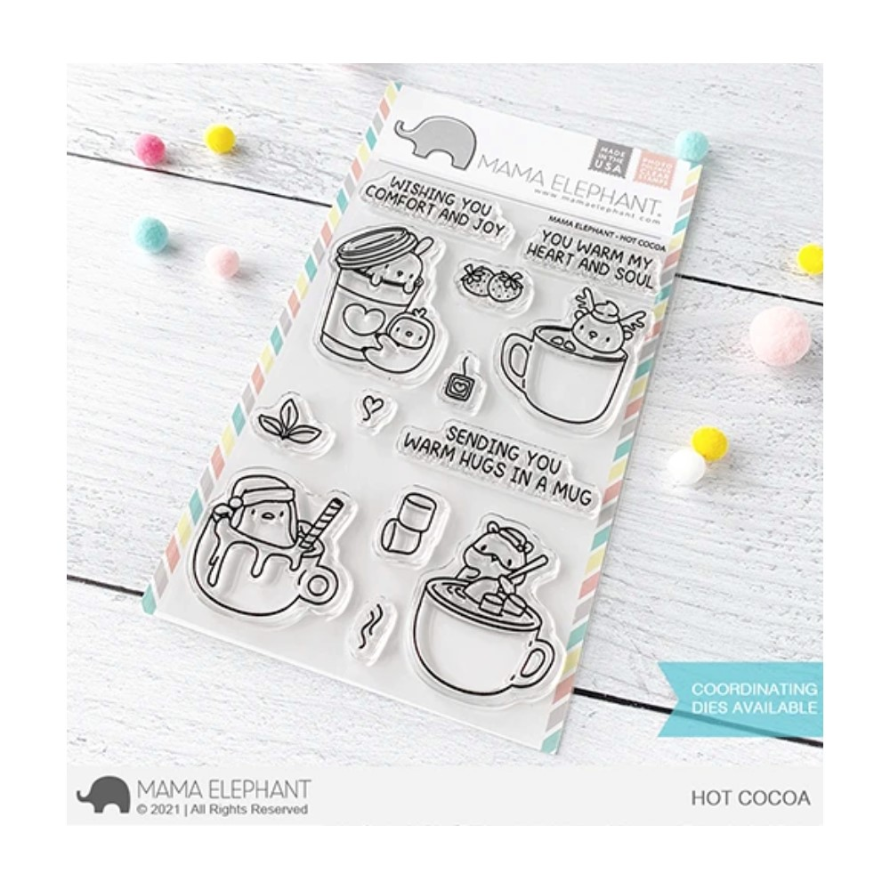 Mama Elephant Clear Stamps HOT COCOA zoom image