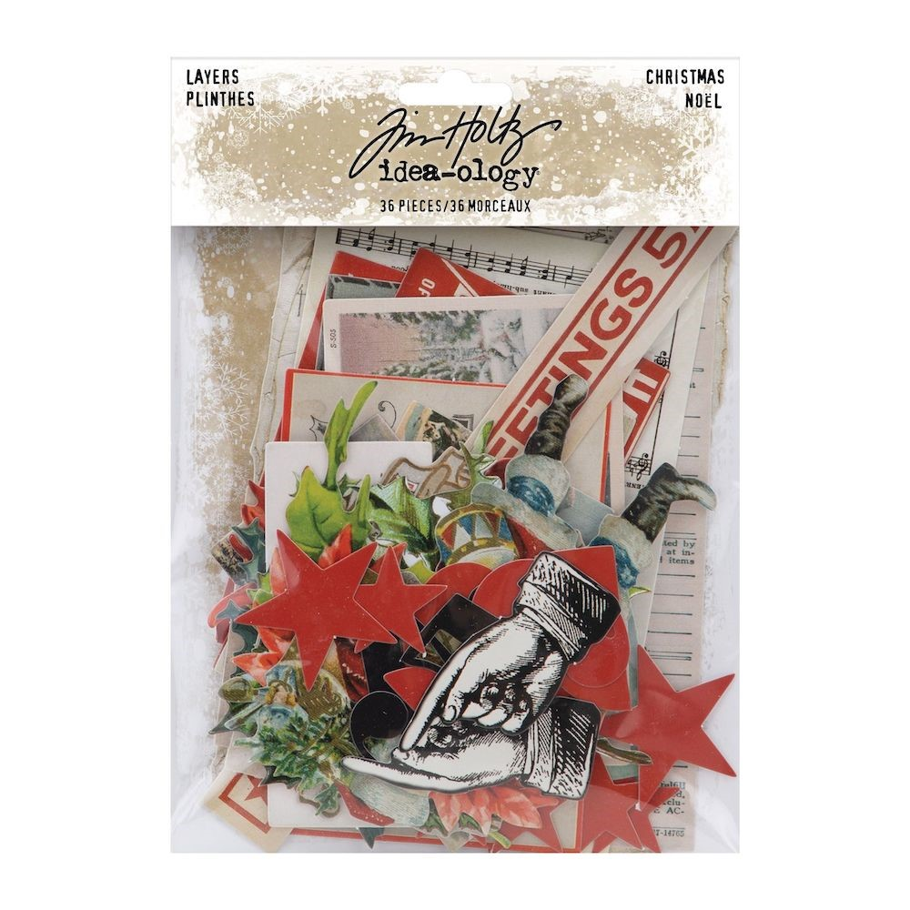 RESERVE Tim Holtz Idea-ology CHRISTMAS Layers th94185 zoom image