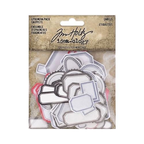 Tim Holtz Idea-ology CHRISTMAS SNIPPETS Ephemera th94188 Preview Image