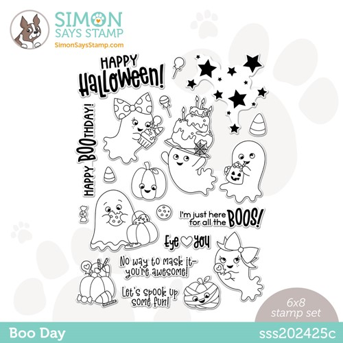 Simon Says Clear Stamps BOO DAY sss202425c Preview Image