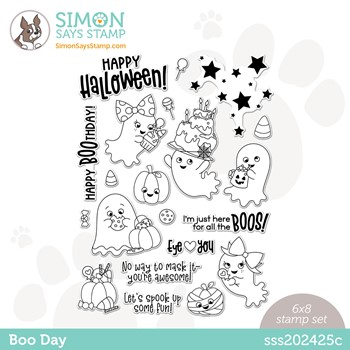 Simon Says Clear Stamps BOO DAY sss202425c