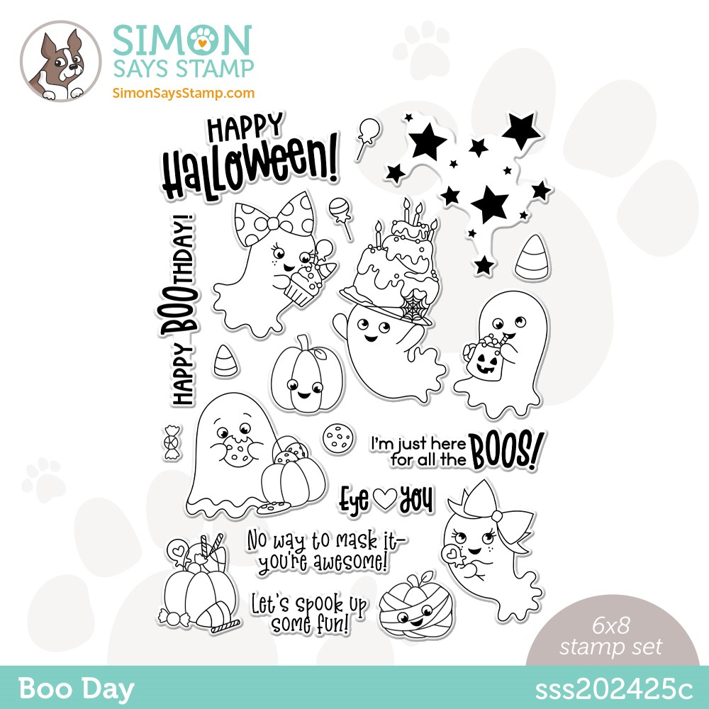 Simon Says Clear Stamps BOO DAY sss202425c zoom image