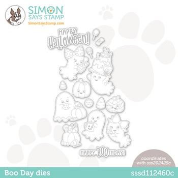 Simon Says Stamp BOO DAY Wafer Dies sssd112460c