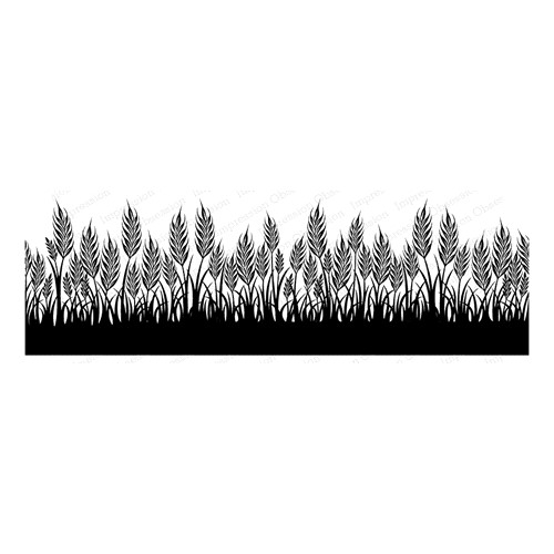 Impression Obsession Cling Stamp WHEAT 3269 LG Preview Image