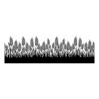 Impression Obsession Cling Stamp WHEAT 3269 LG