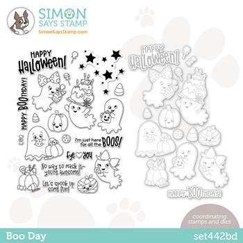 Simon Says Stamps and Dies BOO DAY set442bd