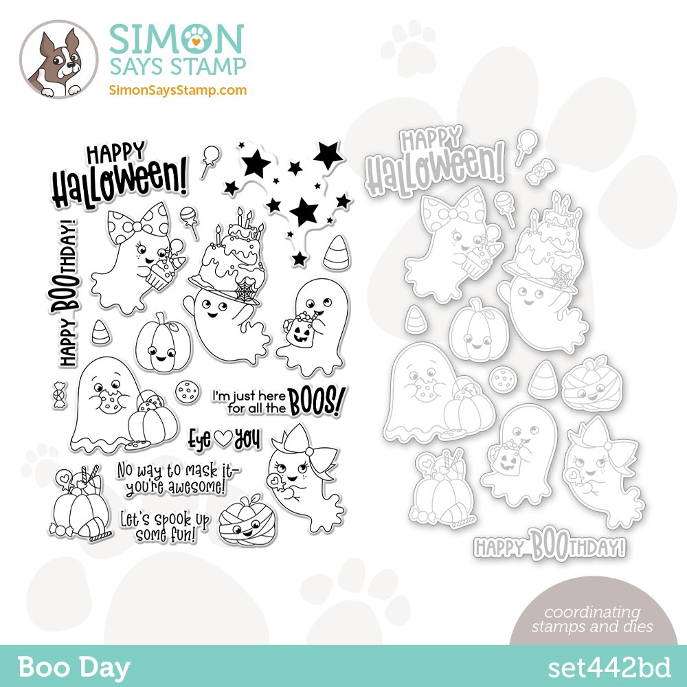 Simon Says Stamps and Dies BOO DAY set442bd zoom image