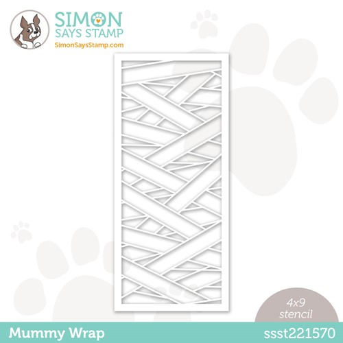 Simon Says Stamp Stencil MUMMY WRAP ssst221570 Preview Image