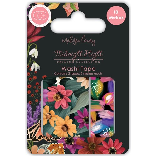 Craft Consortium MIDNIGHT FLIGHT Washi Tapes CCWTPE014 Preview Image