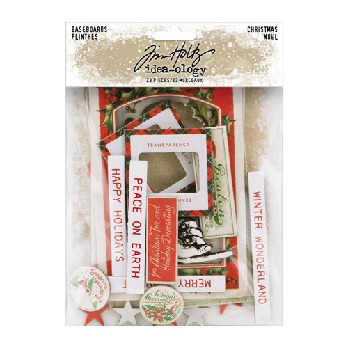 RESERVE Tim Holtz Idea-ology CHRISTMAS Baseboards th94193 Preview Image