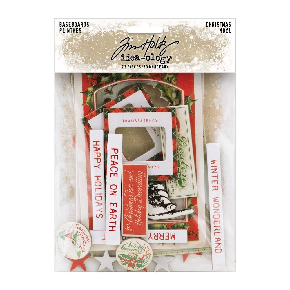 RESERVE Tim Holtz Idea-ology CHRISTMAS Baseboards th94193 zoom image