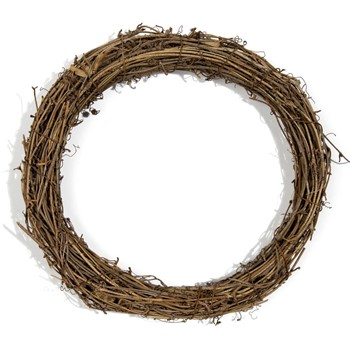 Various 10 INCH GRAPEVINE WREATH 40000609