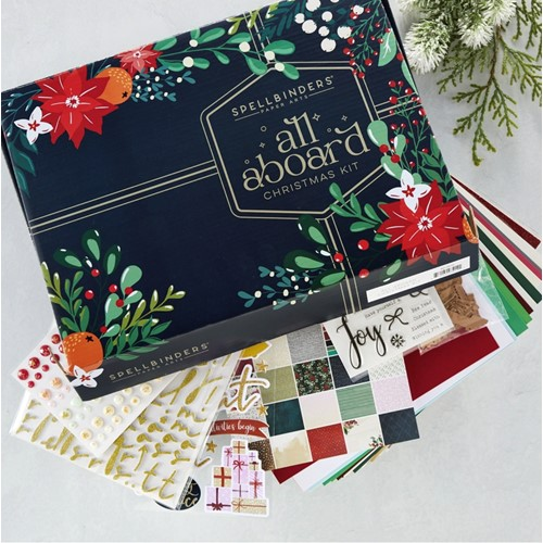Spellbinders ALL ABOARD Christmas Kit BD-0670 Preview Image