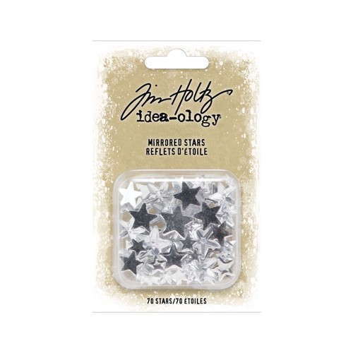 RESERVE Tim Holtz Idea-ology MIRRORED STARS th94207 Preview Image