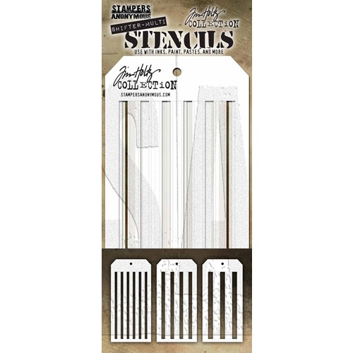Tim Holtz STENCIL SHIFTER MULTI STRIPES THSM03 Preview Image