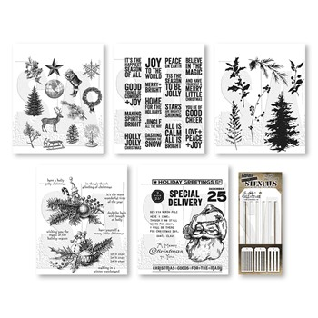 RESERVE Tim Holtz I WANT IT ALL Stamps Stencils 2021 Christmas Edition