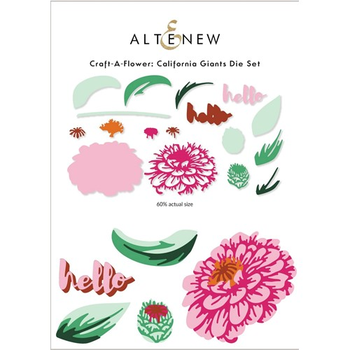 Altenew Craft a Flower CALIFORNIA GIANTS Layering Dies ALT6293 Preview Image