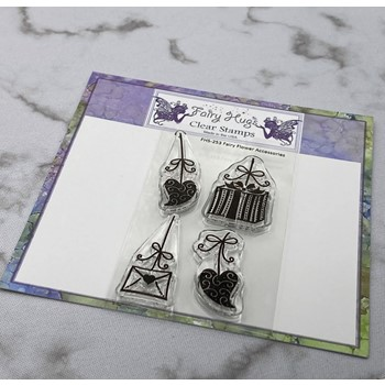 Fairy Hugs FAIRY FLOWER ACCESSORIES Clear Stamps FHS-253