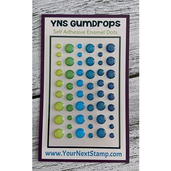 Your Next Stamp FIREFLY MAGIC SPARKLY Gumdrops ynsgd109