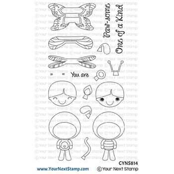 Your Next Stamp COSTUME FHIONA Clear cyns814