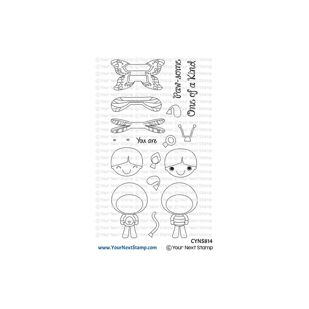 Your Next Stamp COSTUME FHIONA Clear cyns814 zoom image