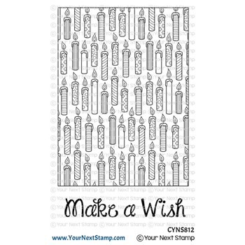 Your Next Stamp MAKE A WISH WRAPPING PAPER Clear cyns812