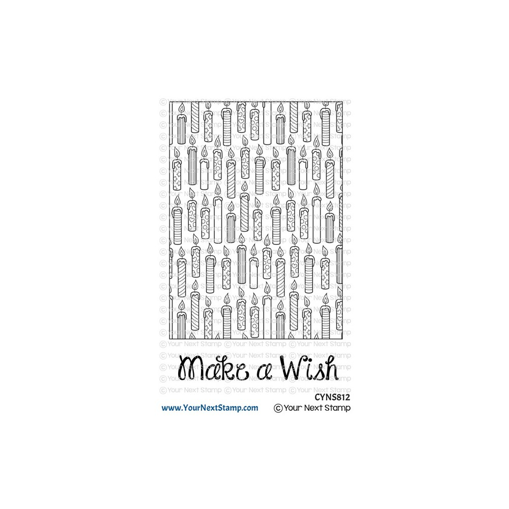Your Next Stamp MAKE A WISH WRAPPING PAPER Clear cyns812 zoom image