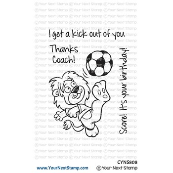 Your Next Stamp SOCCER FUN Clear cyns808
