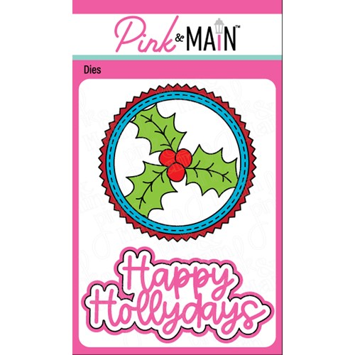 Pink and Main HOLLY DAYS Dies PNM386 Preview Image