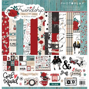 PhotoPlay FRIENDSHIP THROUGH THE YEARS 12 x 12 Collection Pack fty3070