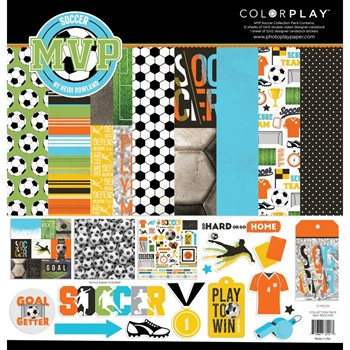 PhotoPlay SOCCER MVP 12 x 12 Collection Pack soc3118