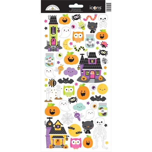 Doodlebug HAPPY HAUNTING Icons Cardstock Stickers 7429 Preview Image