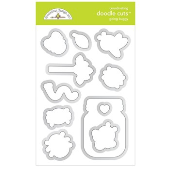 Doodlebug GOING BUGGY Doodle Die Cuts 7424